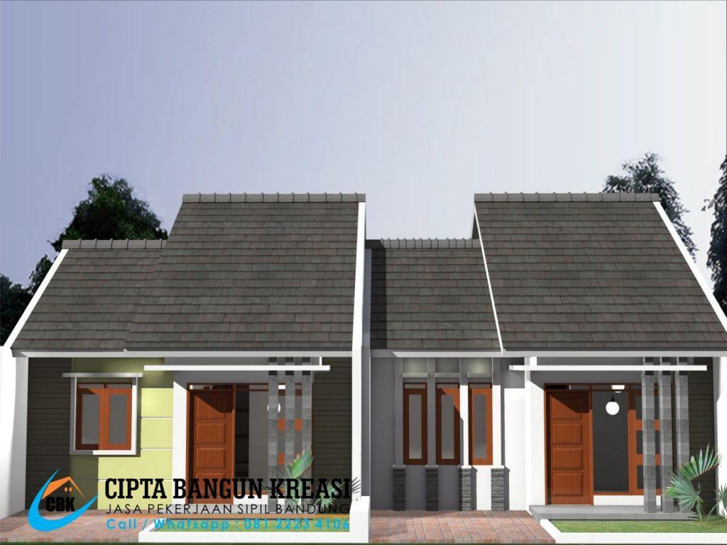 jasa desain rumah tinggal bandung 1