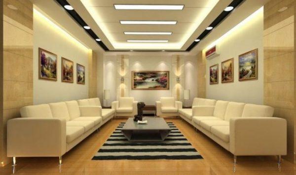 dekorasi drop ceiling plafon gypsum