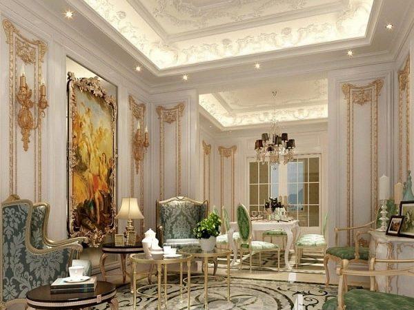 dekorasi plafon klasik